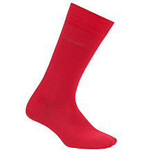 Buy BOSS Marc Plain Socks, Red Online at johnlewis.com