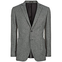 Buy Jaeger Salt & Pepper Slim Fit Jacket, Charcoal Online at johnlewis.com