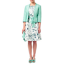 Buy Jacques Vert Notch Neck Jacket, Light Green Online at johnlewis.com