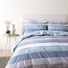 Buy Jigsaw Water Stripe Cotton Bedding Online at johnlewis.com