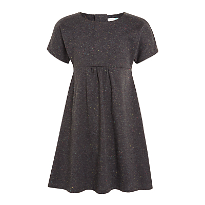 John Lewis Girls' Skater Dress, Washed Black