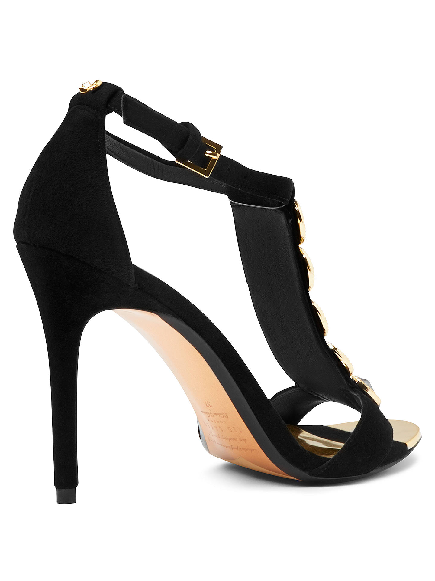 fcc596168 Ted Baker Zlamin Embellished Ankle Strap High Heel Sandals at John ...