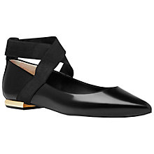 Buy Ted Baker Cencae Cross Strap Ballet Pumps Online at johnlewis.com