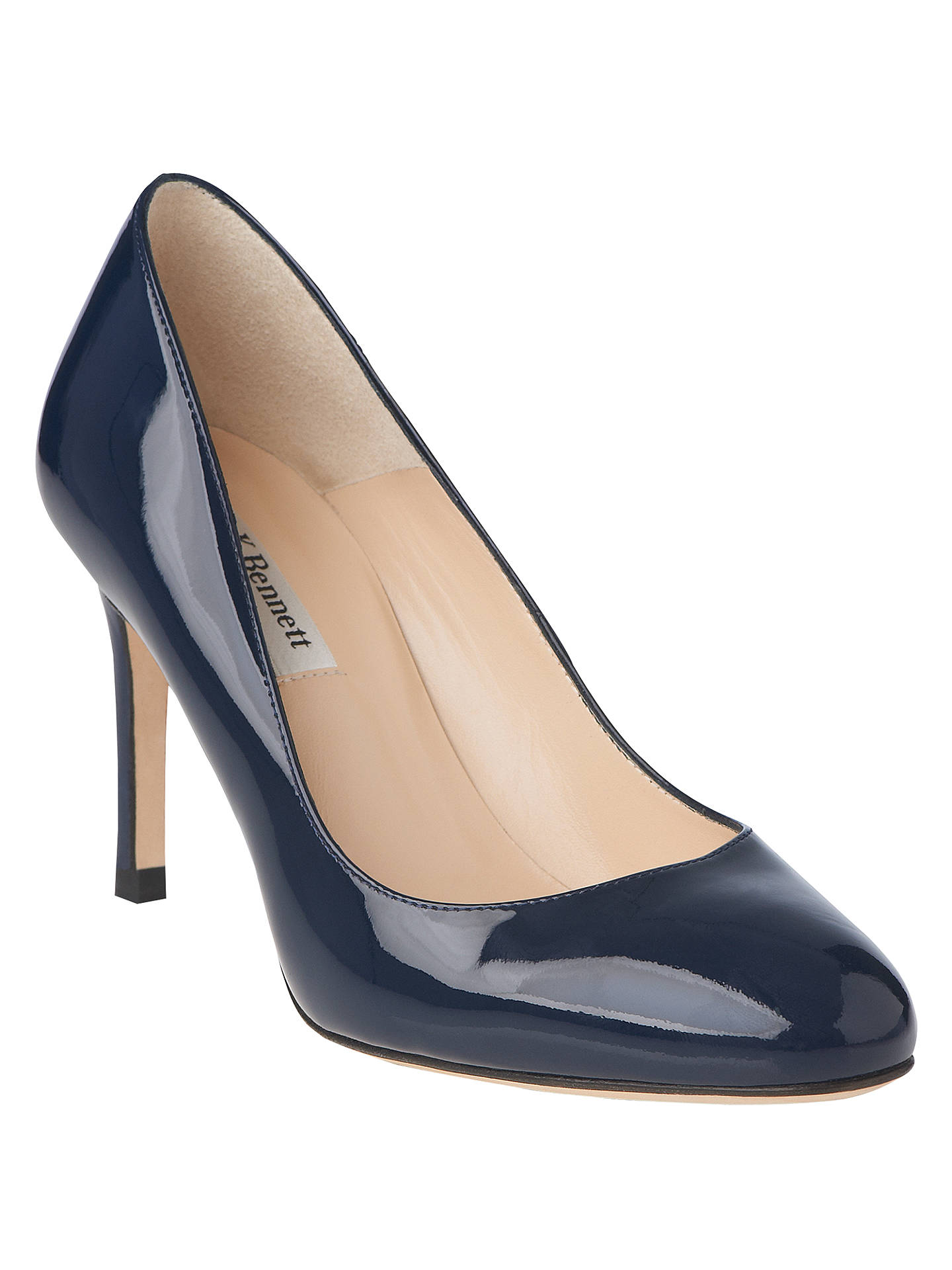 e8a686954c30 L.K. Bennett Sasha Round Toe Court Shoes at John Lewis   Partners