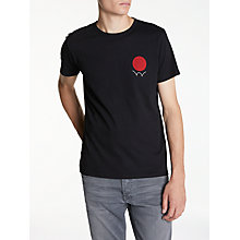 Buy Edwin Red Dot Logo T-Shirt Online at johnlewis.com