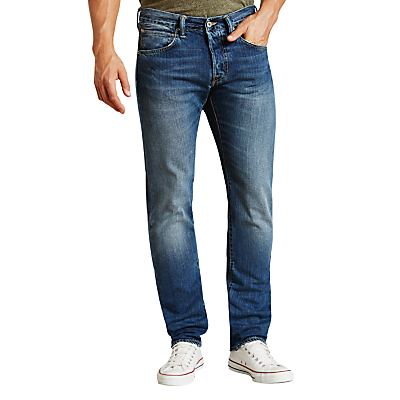 Edwin ED-55 Relaxed Tapered Jeans, Savage Wash