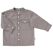 Buy Wheat Baby Axel Long Sleeve Shirt, Grey Online at johnlewis.com