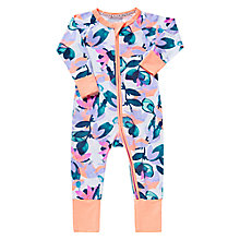 Buy Bonds Baby Zip Jungle Wondersuit Sleepsuit, Multi Online at johnlewis.com