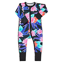 Buy Bonds Baby Neo Lily Zip Wondersuit Sleepsuit, Multi Online at johnlewis.com