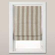 Buy John Lewis Croft Collection Wide Stripe Blackout Roman Blind Online at johnlewis.com