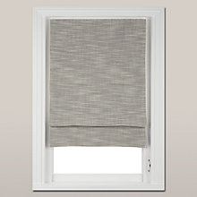 Buy John Lewis Croft Collection Textured Blackout Roman Blind, Grey Online at johnlewis.com