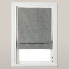 Buy John Lewis Westbourne Roman Blind, Graphite Online at johnlewis.com