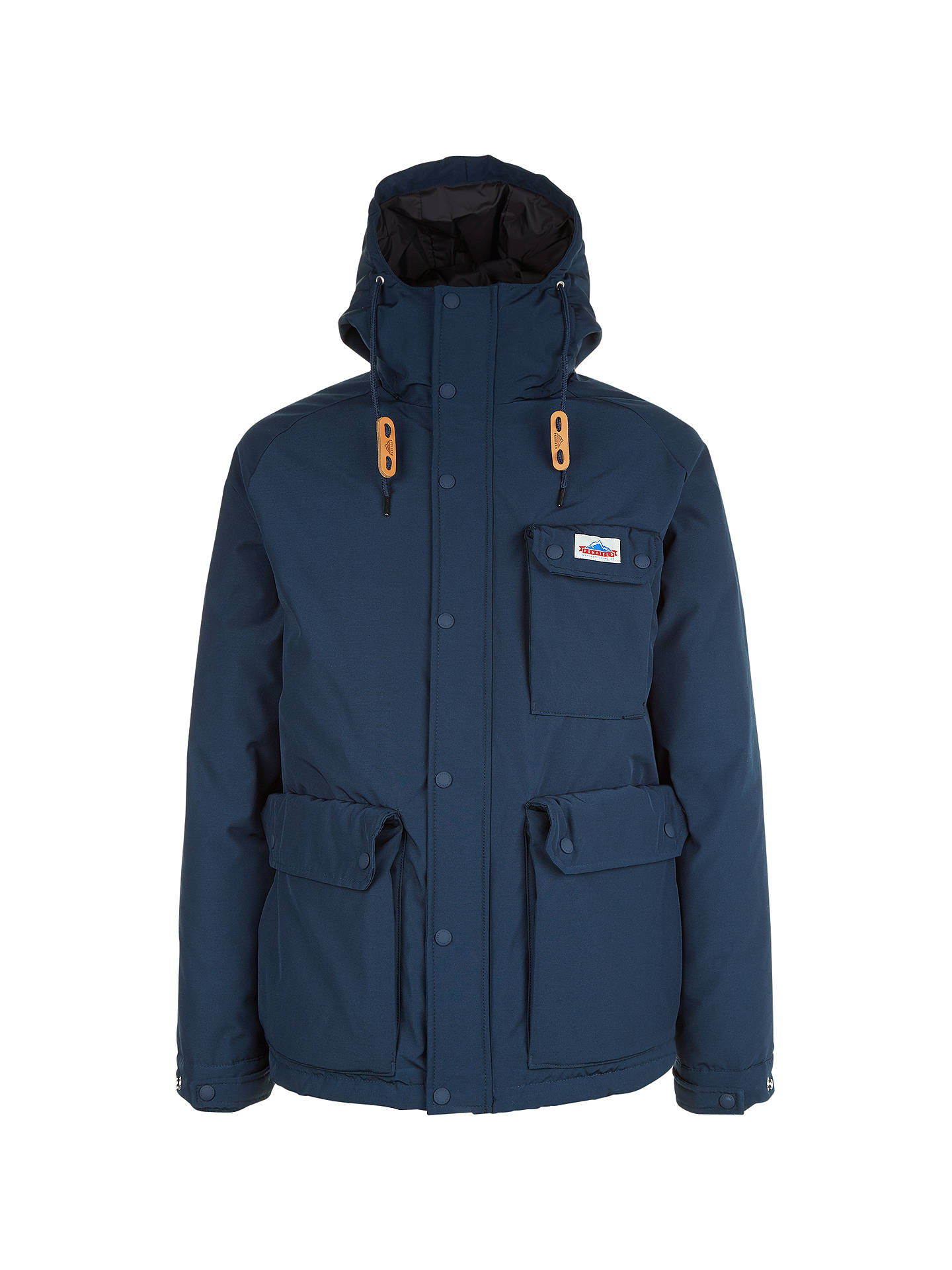 1f4e83b1df2 Penfield Apex Water-Resistant Down Insulated Parka Jacket, Navy at ...