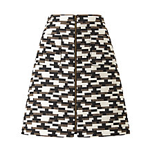 Buy Phase Eight Drue Jacquard Skirt, Multi Online at johnlewis.com