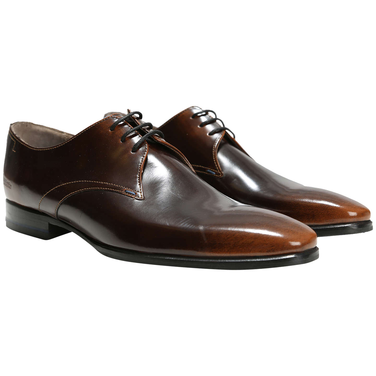 BuyOliver Sweeney Tuckley Derby Shoes, Brown, 7 Online at johnlewis.com ...