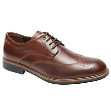 Buy Rockport Classic Break Wingtip, Cognac Online at johnlewis.com