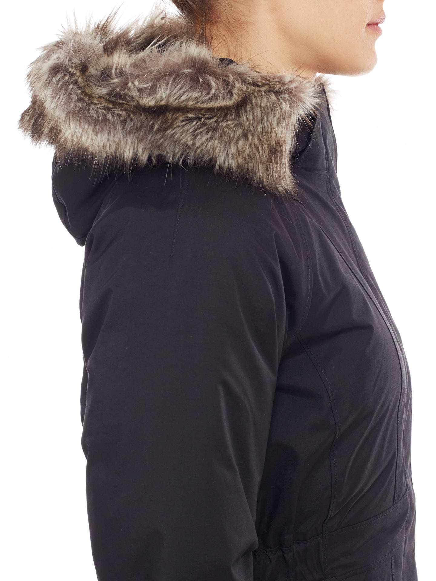 66978d491 The North Face Faux Fur Trim Arctic Waterproof Insulated Women's ...