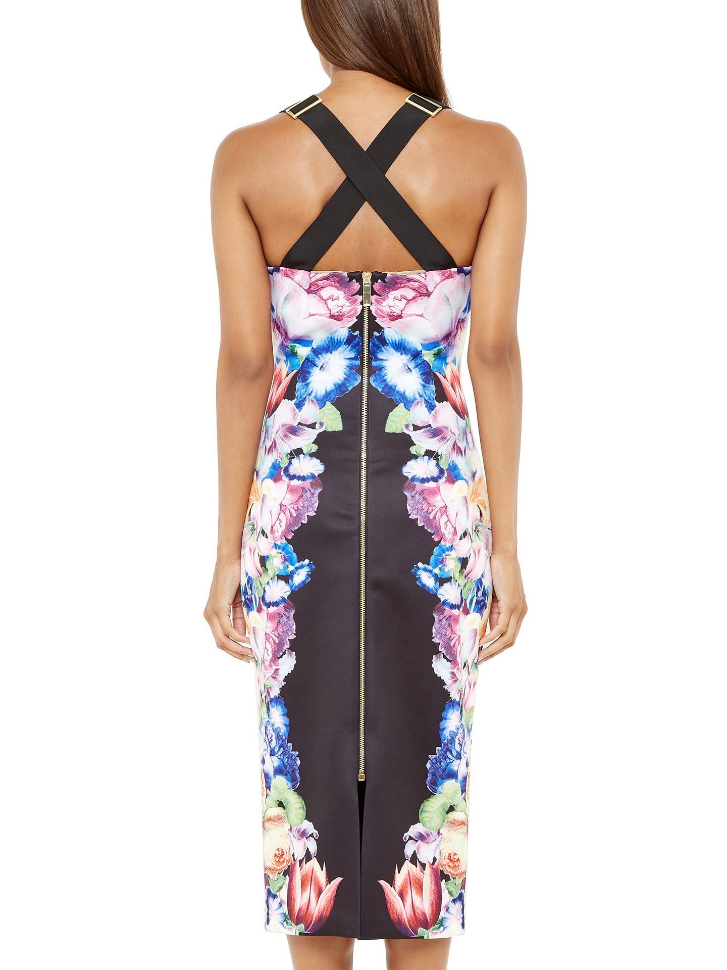 170ff6e435e92 Buy Ted Baker Deony Tapestry Flora Buckle Dress