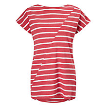 Buy East Jersey Stripe Top, Red Online at johnlewis.com