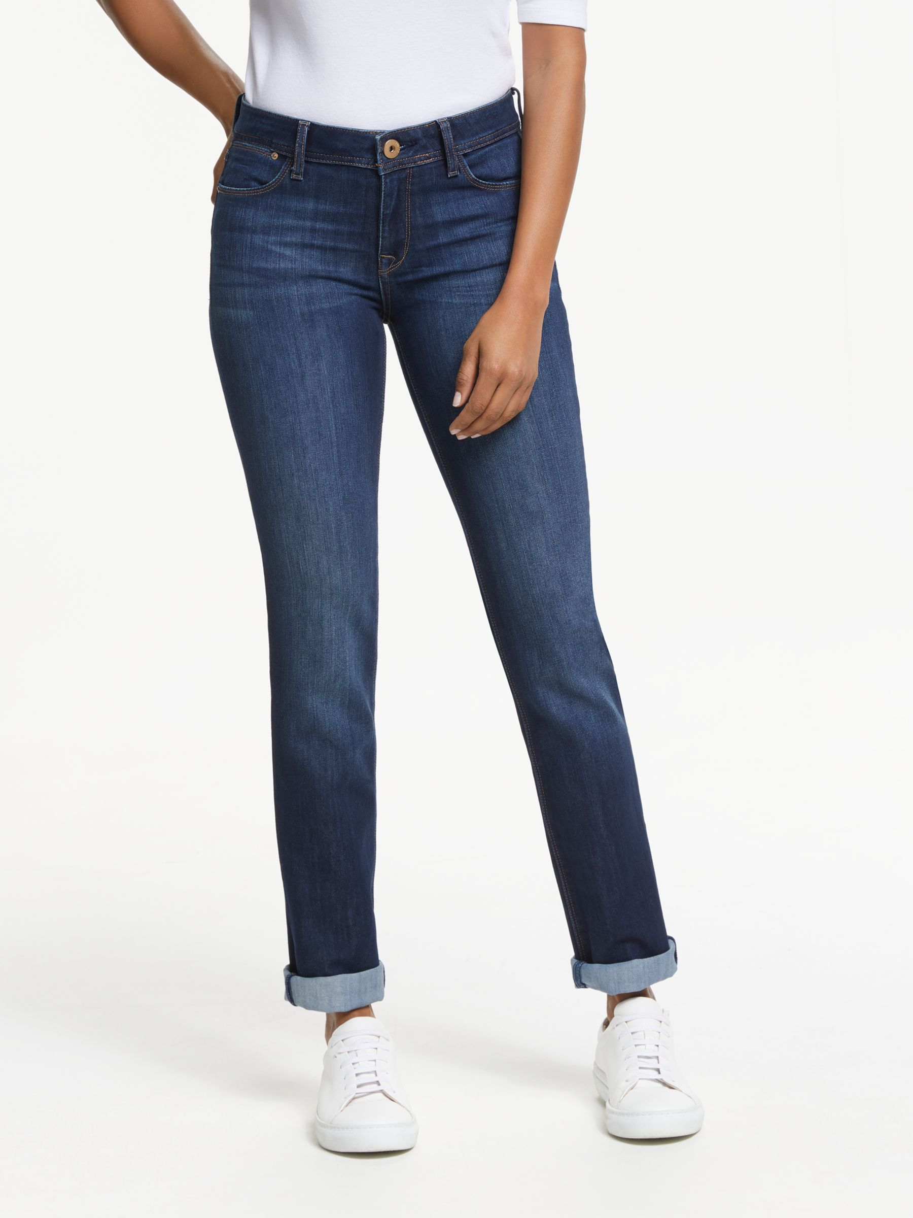 DL1961 DL1961 Coco Straight Leg Jeans, Solo