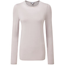 Buy Pure Collection Soft Jersey Crew Neck Top Online at johnlewis.com