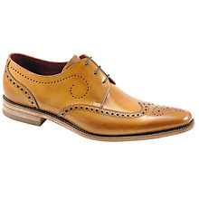 Buy Loake Kruger Derby Shoes, Tan Online at johnlewis.com