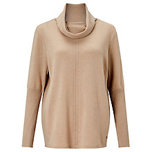 Buy Gerry Weber Roll Neck Jumper, Hazel Melange Online at johnlewis.com