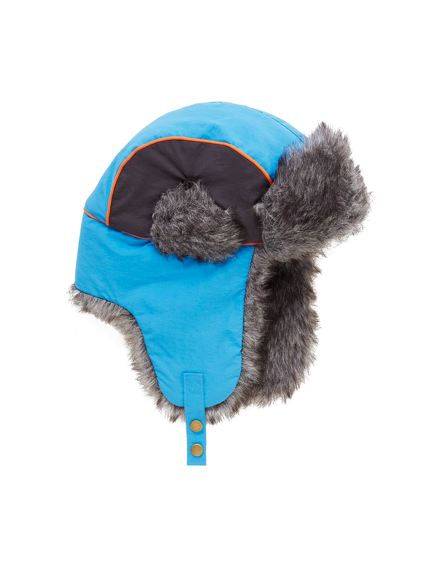 886082f3fd016 Buy John Lewis Children's Retro Ski Trapper Hat, Blue, 3-5 years Online ...