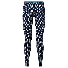 Buy Gant Stars Stretch Cotton Long Johns, Navy Online at johnlewis.com
