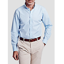 Buy Thomas Pink Albert Plain Slim Fit Button Collar Shirt Online at johnlewis.com