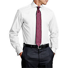Buy Thomas Pink Frederick Cutaway Collar Plain Double Cuff Slim Fit Shirt Online at johnlewis.com