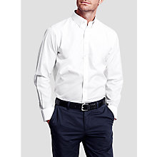 Buy Thomas Pink Albert Plain Slim Fit Button Collar XL Sleeve Shirt Online at johnlewis.com