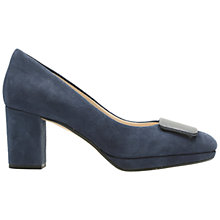 Buy Clarks Kelda Gem Block Heeled Court Shoes Online at johnlewis.com