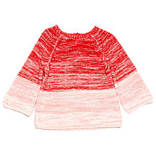 Buy Margherita Kids Girls' Ombre Bell Sleeve Jumper, Hibiscus Online at johnlewis.com