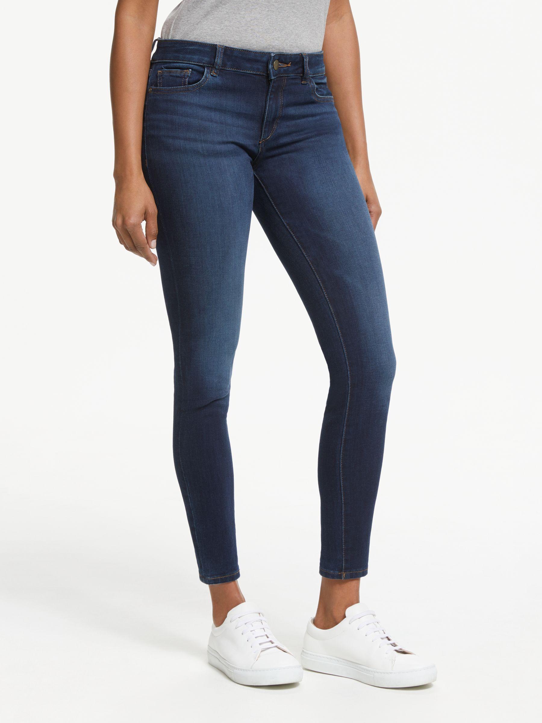 DL1961 DL1961 Florence Mid Rise Skinny Jeans, Warner