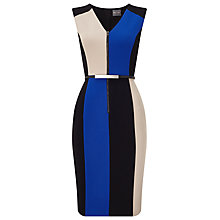 Buy Phase Eight Iona Colourblock Dress, Multi Online at johnlewis.com