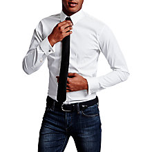 Buy Thomas Pink Frederick Plain Double Cuff Super Slim Fit Shirt Online at johnlewis.com