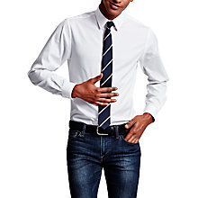 Buy Thomas Pink Frederick Plain Super Slim Fit Shirt Online at johnlewis.com