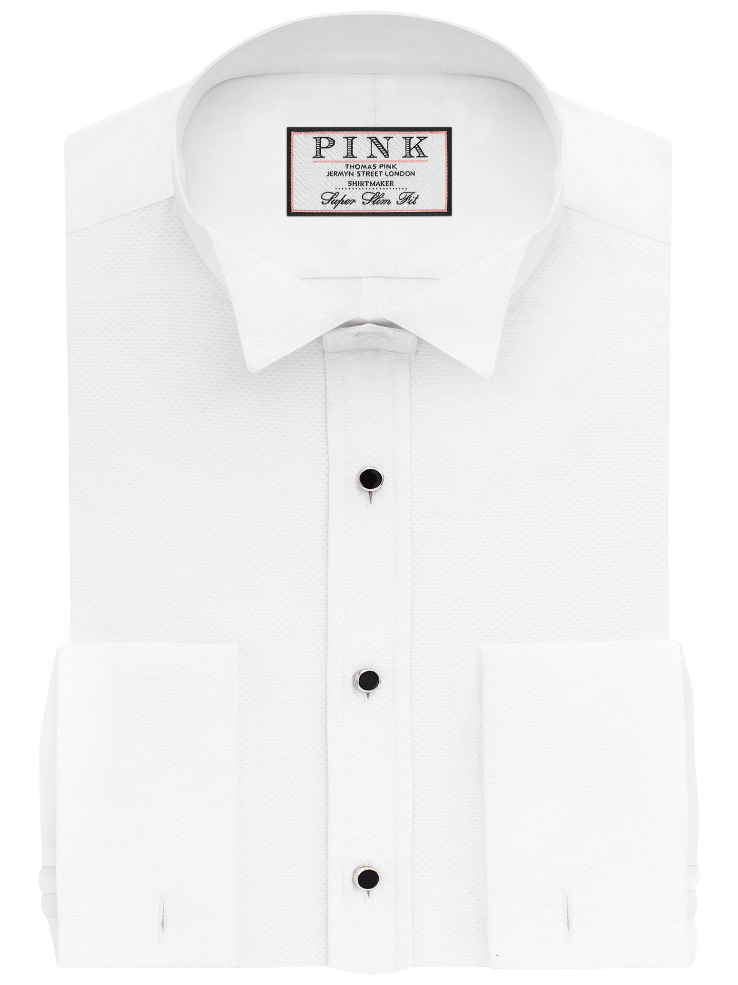 Thomas Pink Marcella Wing Collar Super Slim Fit Dress Shirt White