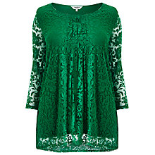 Buy Studio 8 Jemima Floral Top, Emerald Online at johnlewis.com