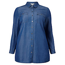 Buy Studio 8 Tara Denim Shirt, Blue Online at johnlewis.com