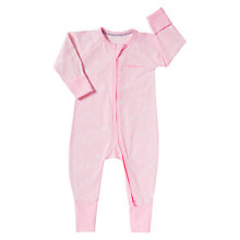 Buy Bonds Baby Constellations Star Print Zip Sleepsuit Online at johnlewis.com