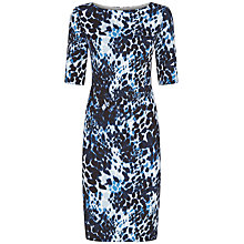 Buy Fenn Wright Manson Athena Animal Print Dress, Blue/Multi Online at johnlewis.com