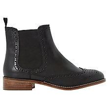 Buy Dune Quenton Brogue Chelsea Boots Online at johnlewis.com
