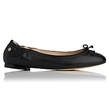 Buy L.K. Bennett Thea Bow Detail Ballet Pumps Online at johnlewis.com