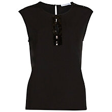 Buy Gina Bacconi Soho Crepe Top With Sequin Trim Online at johnlewis.com