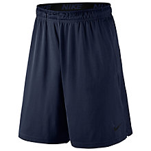 "Buy Nike Fly 9"" Dry Training Shorts, Navy Online at johnlewis.com"