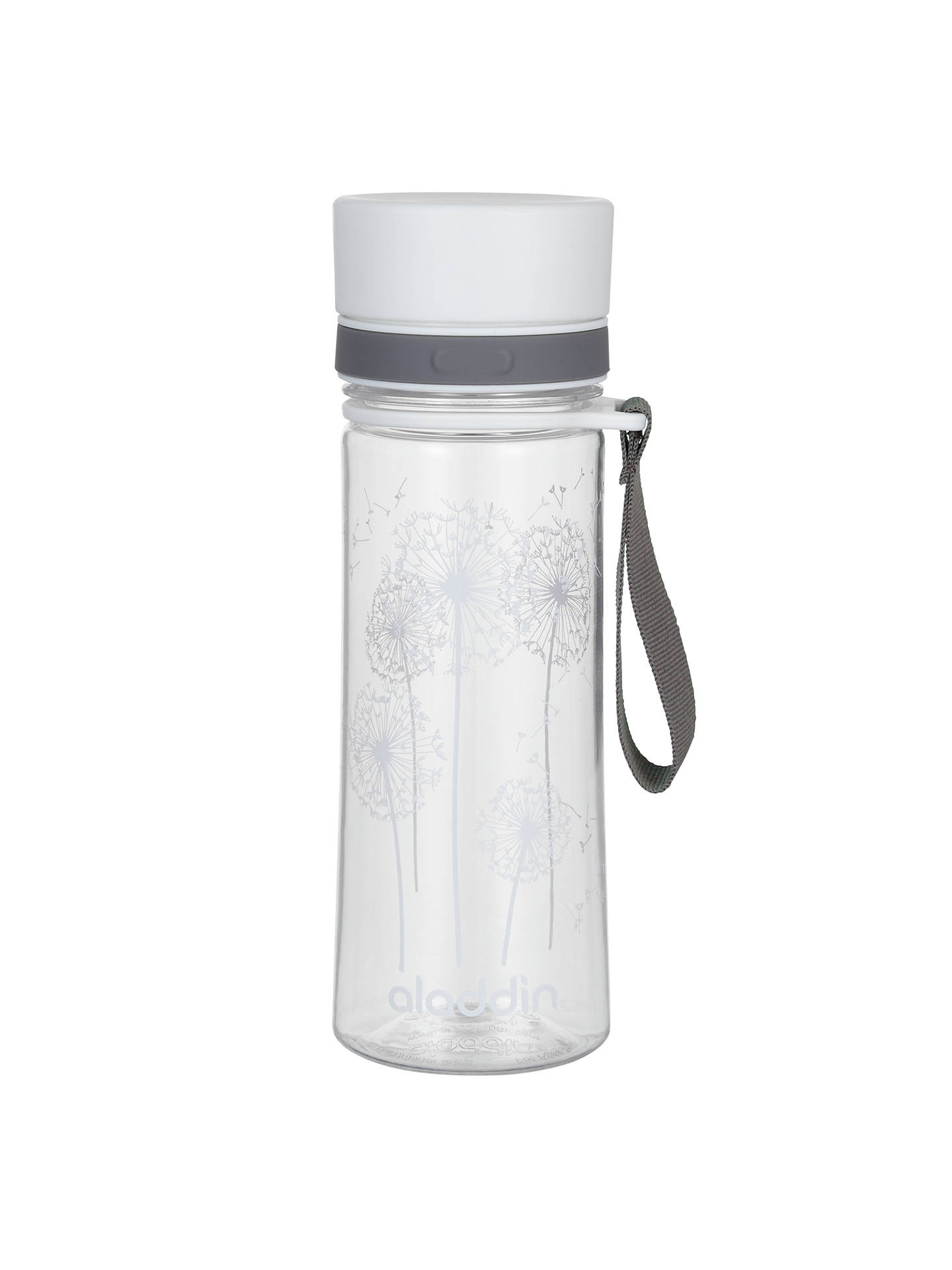 Buy Aladdin Aveo Water Bottle, White, 350ml Online at johnlewis.com