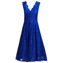 Buy Jolie Moi V-Neck Lace Dress Online at johnlewis.com