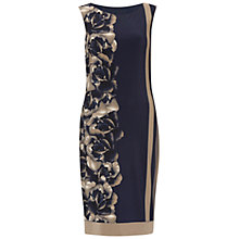 Buy Gina Bacconi Stripe Rose Jersey Dress, Navy Online at johnlewis.com
